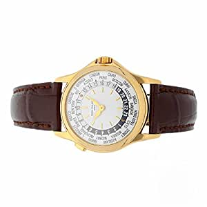 Patek Philippe World Time automatic-self-wind mens Watch 5110J-001 (Certified Pre-owned)