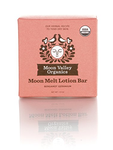 - Moon Valley Organics, Lotion Bar Melt Bergamot Geranium, 1.9 Ounce