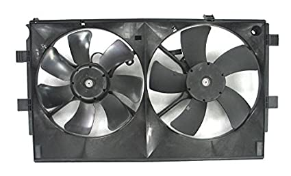 Depo 314-55030-000 Radiator/Air Conditioner Fan Assembly (MITSUBISHI LANCR 08