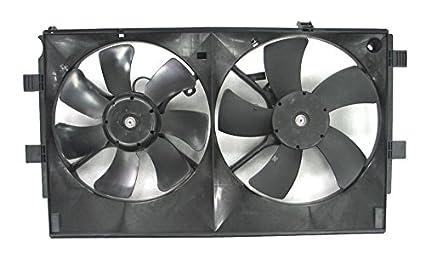 Depo 314-55030-000 Radiator/Air Conditioner Fan Assembly (MITSUBISHI LANCR 08
