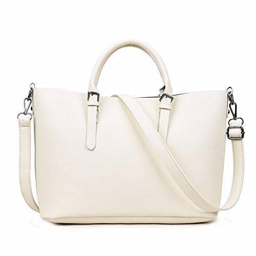 699cd915a1 Wanjiamen'shop Spalla Donna Bianco Bambino Elegante Singolo BorsettaGrigio  Obliqua In Borsa Riso Croce Pelle htsBrCdQxo