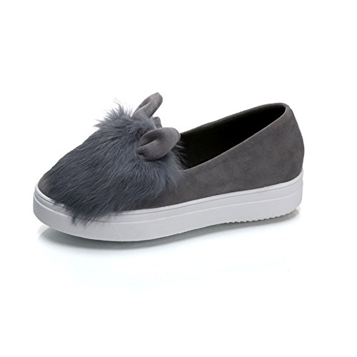 Damenschuhe,Aber Das Philharmonic Shoes,Nude Schuhe,Flache Runde Zehe,Slip-on Mann Schuhe A