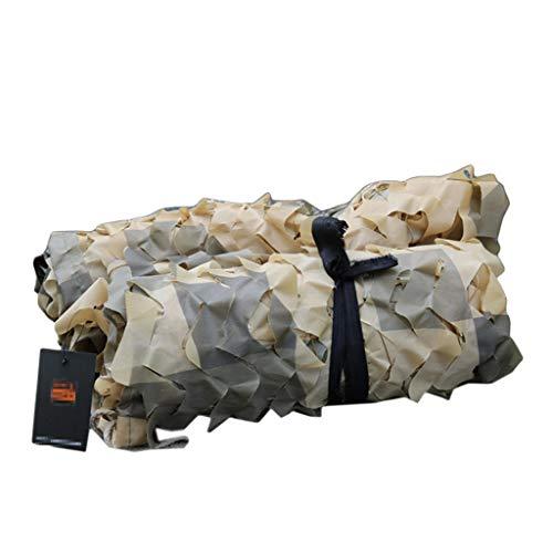 電気技師南西子犬迷彩ネット、屋外隠れ狩猟サンシャインデッドウッドランドキャンプに適してインテリア装飾、カーカバー、オックスフォード布、砂漠の色 (サイズ さいず : 3 * 4M)