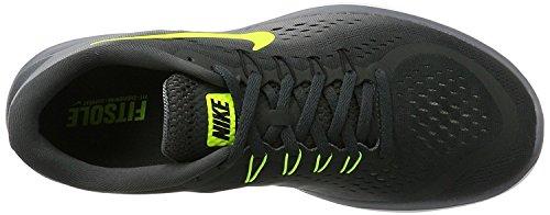 Nike Men's Free RN Sense Running Shoe, Chaussures de Fitness Homme Anthracite/Volt/Cool Grey/Black