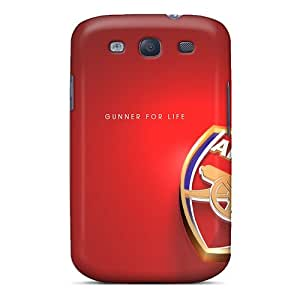 Samsung Galaxy S3 Uei9890aoBi Unique Design High Resolution Arsenal Pictures Protective Hard Cell-phone Case -TimeaJoyce