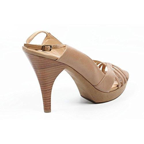 Nine West Womens Slingback Sandal NWSTUNNER TAUPE Taupe YHupOG