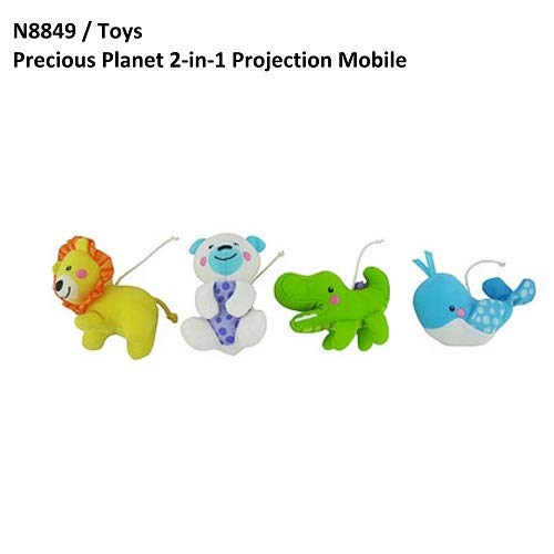 Replacement Mobile Hanging Toys for Fisher-Price Precious Planet 2 in 1 Projection Mobile