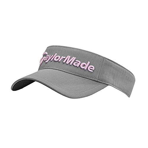 - New TaylorMade Golf - Ladies Radar Visor Gray/Orchid B1177101