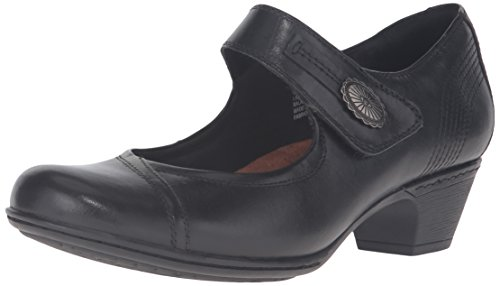 Cobb Hill Rockport Women's Abigail Dress Pump, Black, 9 W (Ladies Wide Dress Shoes)