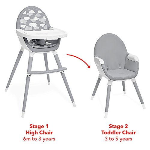 Skip Hop Tuo Convertible High Chair, Clouds by Skip Hop (Image #1)
