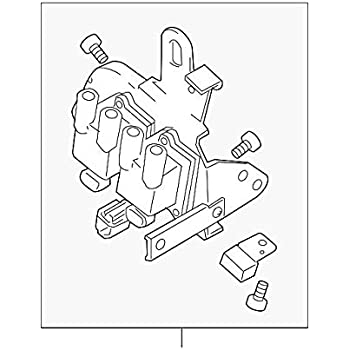 Amazon Com Kia 27301 23700 Ignition Coil Automotive