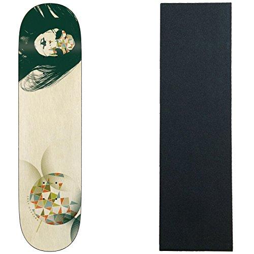 一般的に言えば見落とす沼地エイリアンワークショップスケートボードデッキGuevara Siren Song 8.5