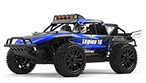 Exceed Racing Desert Monster 1/16 Scale Truck Ready to Run 2.4ghz (DD Blue)