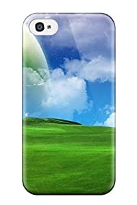 iphone 6 4.7 Case Cover - Slim Fit Tpu Protector Shock Absorbent Case (nature 3d)