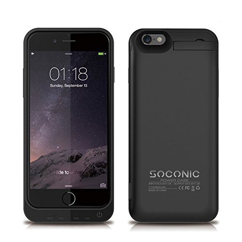 [With A Screen Protector] iPhone 6s Battery Case Soconic 5800 mAh...