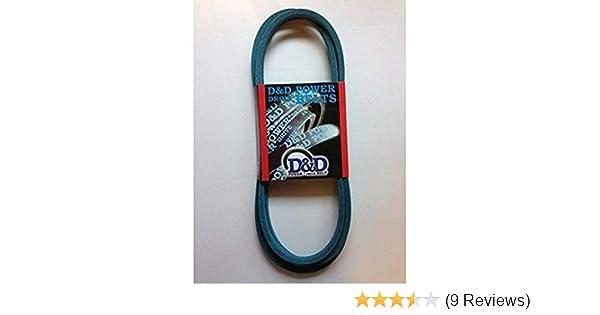 1 Band Aramid D/&D PowerDrive 37X110MA Briggs /& Stratton Kevlar Replacement Belt