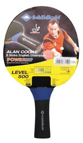 Schildkrot Powergrip Table Tennis Bat - Red/Black by Schildkrot by Schildkrot