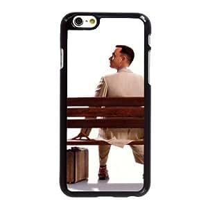 Funda iPhone 6 6S caso del teléfono celular de 4.7 pulgadas Funda Negro Forrest Gump U0X8TE