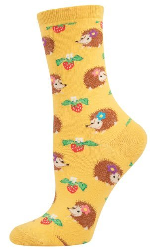 Socksmith Hedgehogs Socks (Gold)