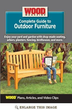Peachy Amazon Com Wood Magazine Complete Guide To Outdoor Spiritservingveterans Wood Chair Design Ideas Spiritservingveteransorg