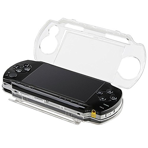 CommonByte Protector Cover Crystal Clear Plastic Hard Case Shield for Sony PSP 1000