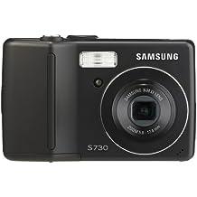 Samsung Digimax S730 7.2MP Digital Camera with 3x Advance Shake Reduction Optical Zoom (Black)