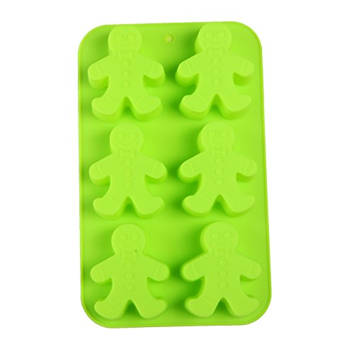 gingerbread men party novelty silicone