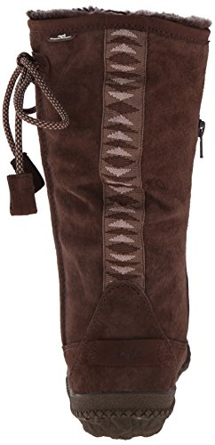 Cushe Womens Cascade Waterproof Boot Dark Brown