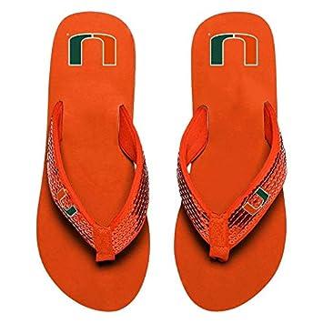 FOCO NCAA Womens Sequin Strap Sandals Flip Flops