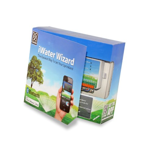Plantraco iWater Wizard 12-Zone Irrigation Controller for Smartphone iWater12