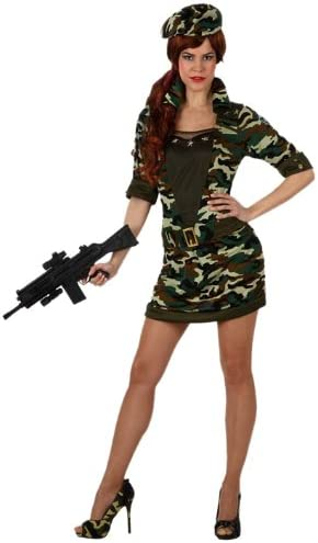 Atosa - Disfraz de soldado para mujer, talla L (M/L) (10316 ...