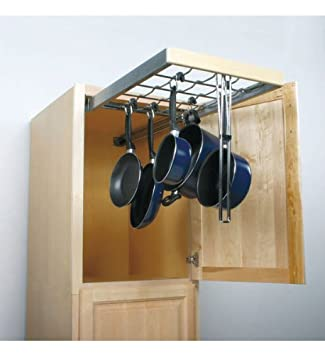 wall cabinet pullout systems with standard close pot u0026 pan organizers