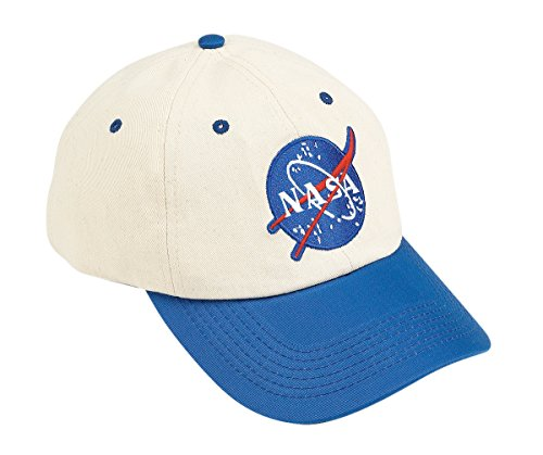 Aeromax Jr. NASA Astronaut Flight Suit Cap, Adjustable Youth size, (Jr Flight Suit Kids Costumes)