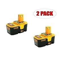Ryobi P100 One+ 18 Volt 1.5Ah Battery (2 PACK) # 130224054-2PK