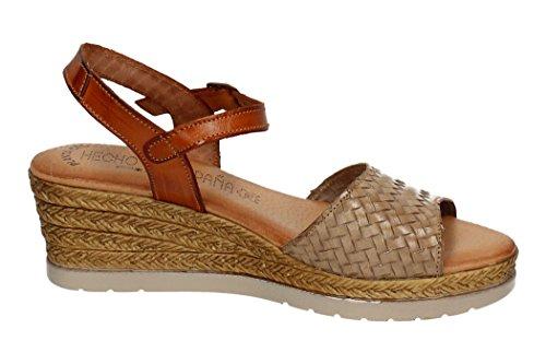 sandales SPAIN IN Cuir femme MADE Hwaqx4B