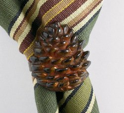 Pine Lodge Napkin Ring, Set of 4