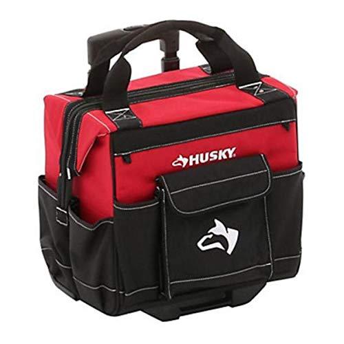 Husky 14 in. Rolling Tool Tote with Bonus 12 in. Bag