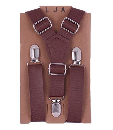 Brown Suspenders for Groom, Groomsmen attire, Rustic Wedding Outfits (35