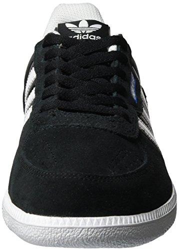 adidas Leonero - Zapatillas de casa Hombre Negro (Core Black/ftwr White/bluebird)