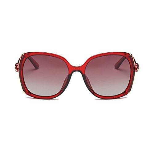 Trend Sol Personalidad Ms Color Mirror Light Colorful Driving de Anti Gafas Vértigo C4 Anti Trend Driver UV Polarized C5 fvB5wn5Fxp