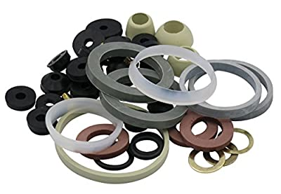 Complete Home Washer Plumbing Repair Kit Assortment, 45 Pieces
