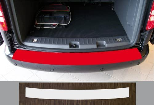 is-tuning passgenau f/ür VW Caddy 3 Baujahre 2003-2015 Lackschutzfolie Ladekantenschutz transparent