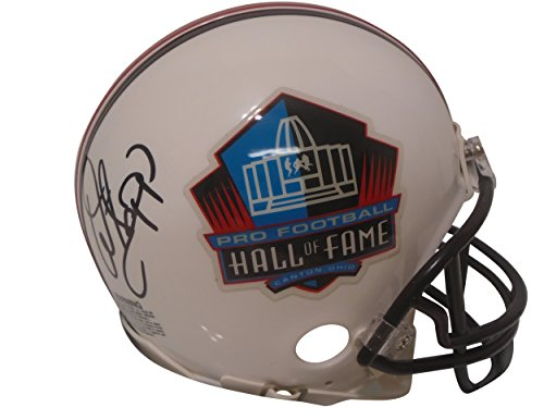 - Tampa Bay Buccaneers Warren Sapp Autographed Hand Signed Pro Football Hall of Fame Riddell Mini Helmet with Proof Photo, Oakland Raiders, Miami Hurricanes, COA