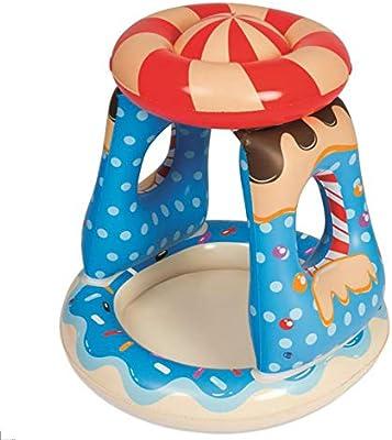 LDIUY Piscina Bañera Hinchable Piscinas Bebe Infantil Inflable de ...