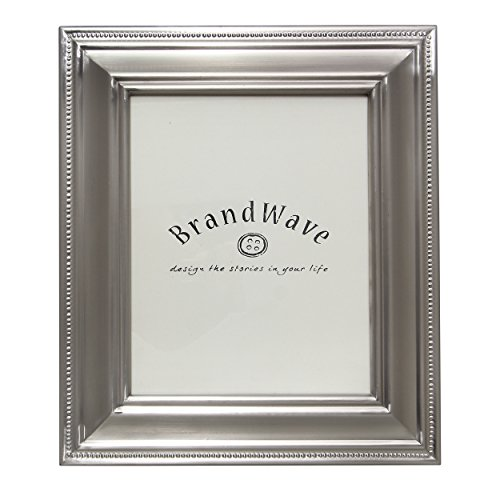 BrandWave Three-Tier Design Metal Beaded Picture Frame - Sil