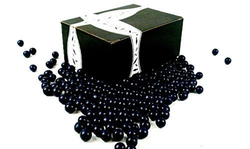 Chocolate Usa Fruit Basket (Marich Chocolate Berryblues, 2 lb Bag in a BlackTie Box)