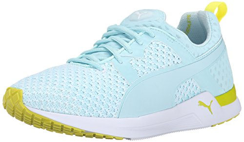 PUMA Pulse XT Knit Women's-W, Clearwater/Sulphur, 10.5 B US