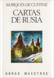 Cartas De Rusia. .., M. de Custine: VARIOS AUTORES: Amazon ...