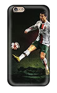 Fashion LxDSTIa5284vdpwh Case Cover For Iphone 6(cristiano Ronaldo Soccer Cleats)(3D PC Soft Case)