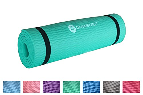 Thick Exercise Yoga Floor Mat Nbr 24 X 71 Inches Great for C